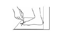 Cómo medir tu talla de pie